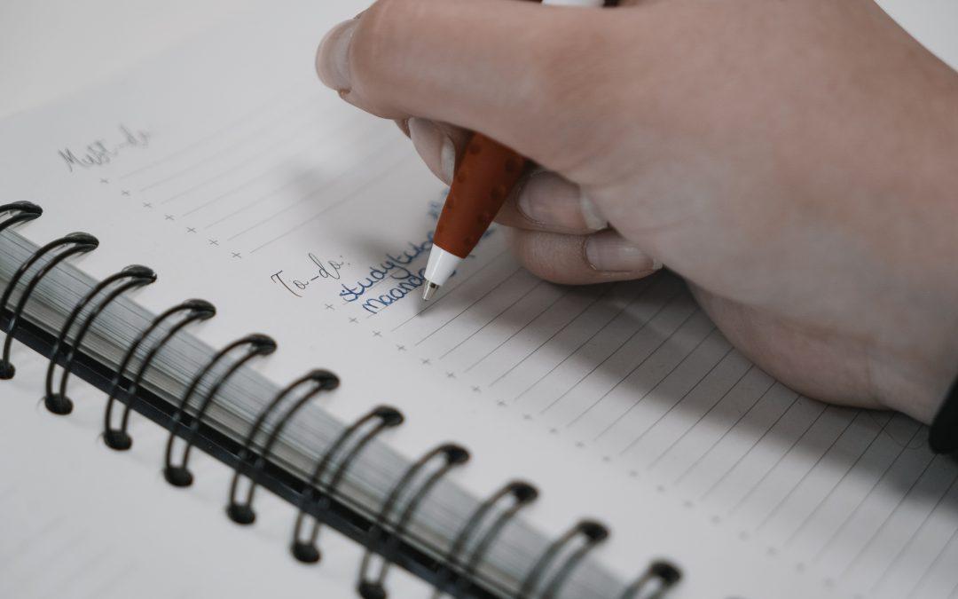 To-do notitieboek